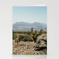 Nevada Desert Scene Stationery Cards