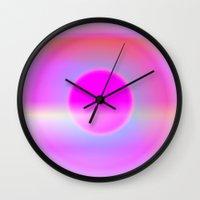 Pink Fairy Wall Clock