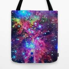 Astral Nebula Tote Bag