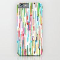 vertical brush strokes  iPhone 6 Slim Case
