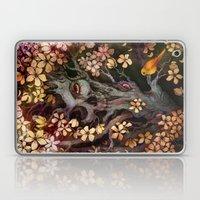 Orange Bird Laptop & iPad Skin