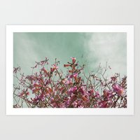 Flower Tree Art Print