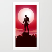 Daredevil - The Man Without Fear Art Print