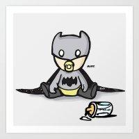 Batbaby Art Print