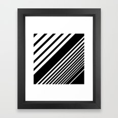 Thick is better Framed Art Print