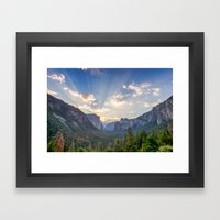 Yosemite Sunrise Framed Art Print