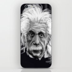 Speed Portraits: Einstein iPhone & iPod Skin