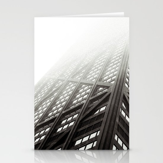 Chicago Hancock Tower Stationery Card