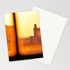 Fire Outside The Window Stationery Cards