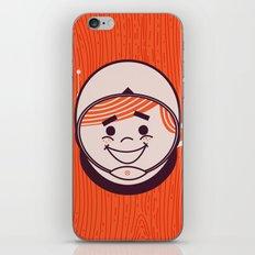 Retro Space Guy iPhone & iPod Skin