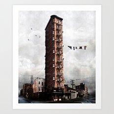 Highrise #1 Art Print
