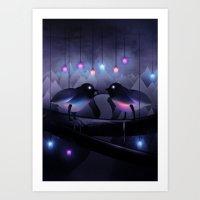 Disco Love (Revamp) Art Print