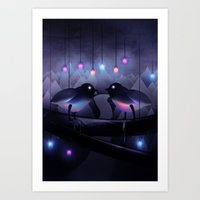 Disco Love (Revamp) Art Print