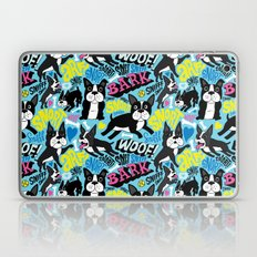 Boston Terrier Pattern Laptop & iPad Skin