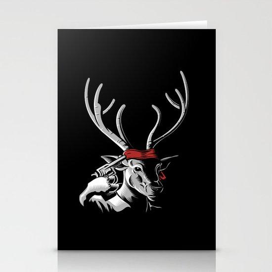 The Deer Hunter Stationery Card