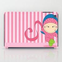 Ballerina -- Fun, sweet, unique, creative and very colorful, original,digital children illustration iPad Case