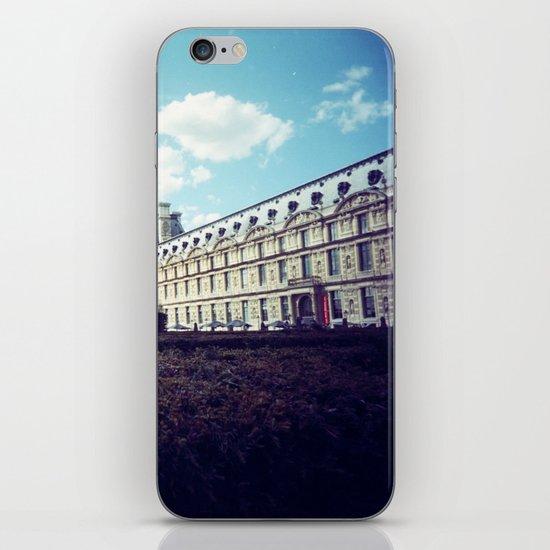 Louvre Gardens I iPhone & iPod Skin