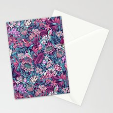 Stand Out! (electric blue) Stationery Cards
