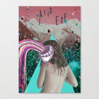 Acid Eye Canvas Print