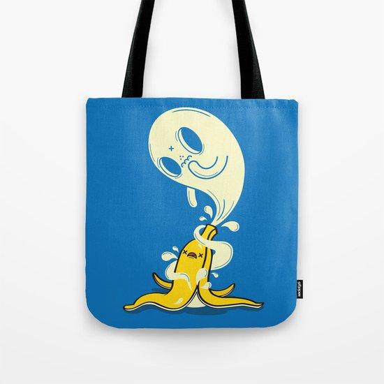 Banana Ghost Tote Bag