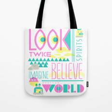 Look Twice Tote Bag