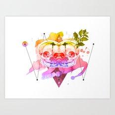 dead twins Art Print