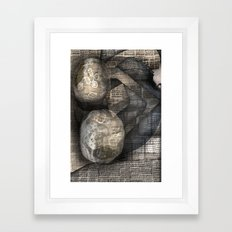 Walls the Same Framed Art Print