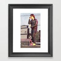 Julian C. - The Strokes Framed Art Print