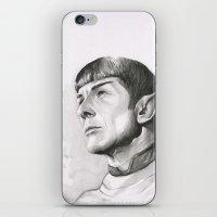 Star Trek Spock Portrait iPhone & iPod Skin