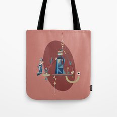 absinthe: blue Tote Bag