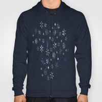 Blue And White Holiday S… Hoody