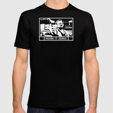 Mark It Zero Mens Fitted Tee SMALL Black