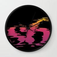 S6 Reflection Wall Clock