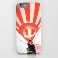 iPhone & iPod Case featuring Let's fly away together by Laurel Howells