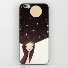 night hat iPhone & iPod Skin