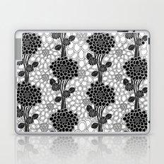 black flowered tree Laptop & iPad Skin