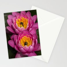 Two bees in a pod Stationery Cards
