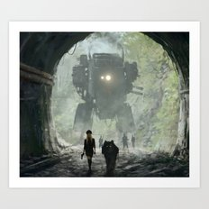 1920 - secret facility Art Print