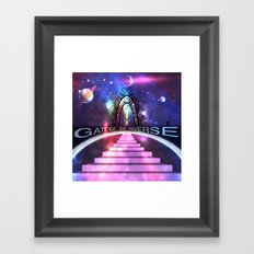 Gate of the Universe Framed Art Print