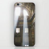 Sun Rays In The Vatican iPhone & iPod Skin