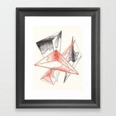 CRAYON LOVE: Monarchs Framed Art Print