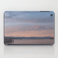 Starnbergersee at dawn iPad Case