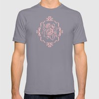 Victorian Romance - Pink… Mens Fitted Tee Slate SMALL