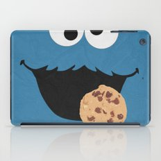 Cookie Monster - Minimalist Poster 01 iPad Case