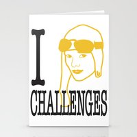 I __ Challenges Stationery Cards