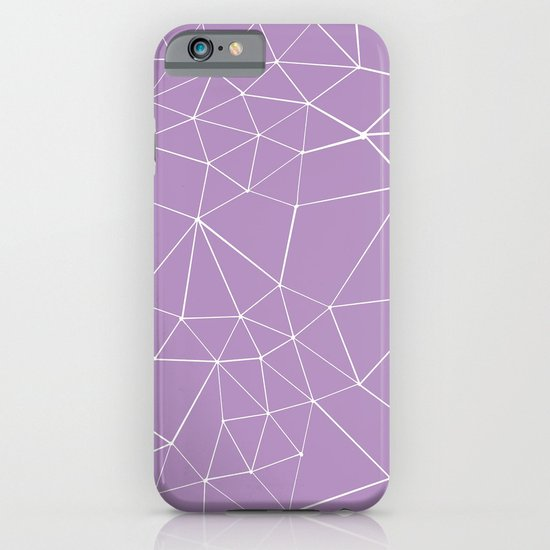 Segment Zoom Orchid iPhone & iPod Case