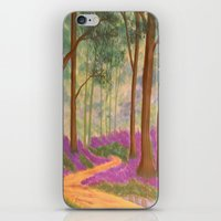 Bluebell Pathway iPhone & iPod Skin