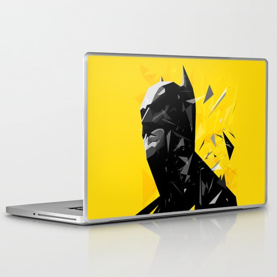 The Caped Crusader Laptop & iPad Skin