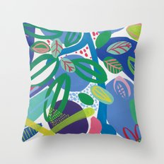 Secret garden II Throw Pillow