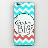 Dream Big Chevron iPhone & iPod Skin